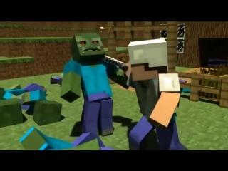 Майнкрафт Приключения Стива - Все серии подряд (Minecraft Сериал)