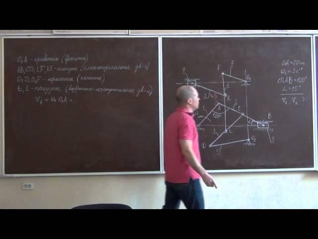 Плоскопараллельное движение твердого тела Часть 1