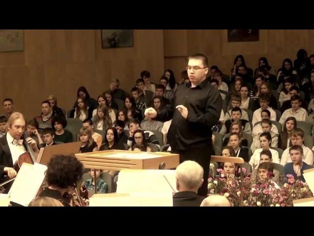Schubert: Symphony No. 8 in B minor Unfinished LIVE / Zielona Góra Philharmonic • Dmitry Polyakov