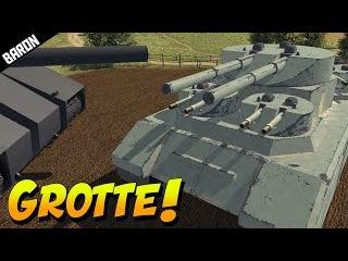 GROTTE!  Russian Land BATTLESHIP!  (Men of War Assault Squad 2)