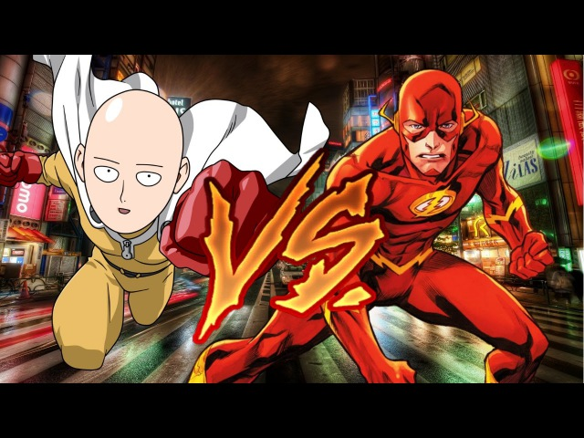 【RANDOM BATTLE】Флеш vs Сайтама (Ванпанч мен) / Flash vs Saitama (One Punch Man)