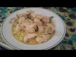 Как приготовить нежное куриное филе в кефирном маринаде!