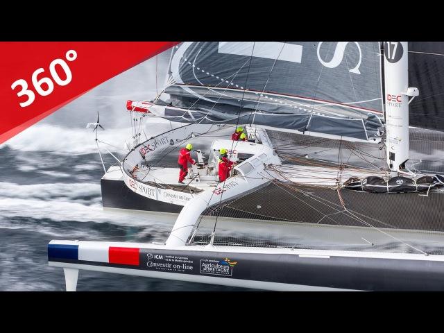 Video 360 Maxi Trimaran IDEC SPORT