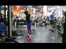 Юлия Зауголова - фитнес-толчок 85 кг