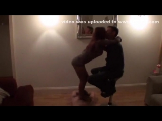 Homemade cuckold video with my wife dancing for a stranger _ hclips private home clips