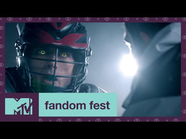 Supernatural Lacrosse Teen Wolf EXCLUSIVE Sneak Peek | Fandom Fest 2017 | MTV
