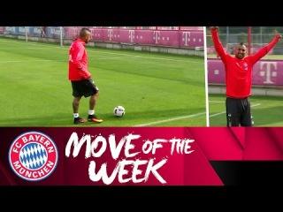 Arturo Vidal Trick Shot | FC Bayern Move of the Week