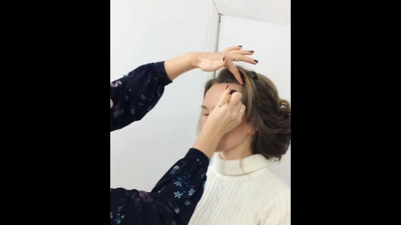 Урок по макияжу и причёскам