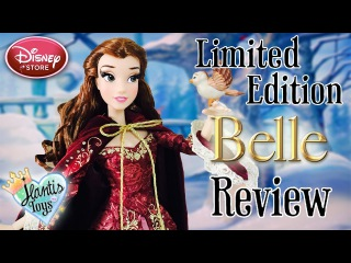 Disney Limited Edition Belle Doll Review & Unboxing - Something There   Beauty and The Beast