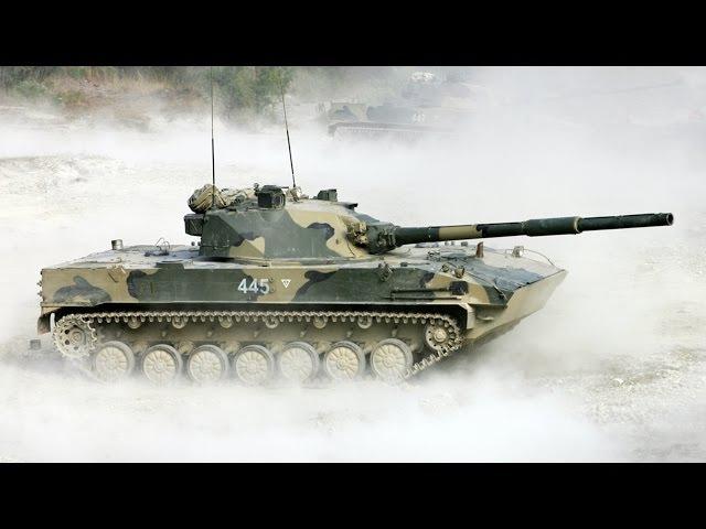 Самоходная противотанковая пушка 2С25 Спрут СД