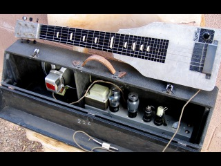Supro 60 Lap Steel Amp in Case Combo,  Vintage 70 year old National Dobro pre Valco
