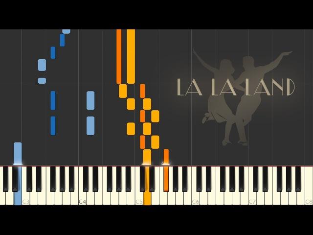 LA LA LAND Mia and Seb's Theme Epilogue Synthesia Piano Tutorial