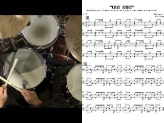 """Cissy Strut"" as played by Dennis Chambers w/John Scofield drum Transcription play along"