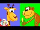 Животные для детей.3 часть Развивающие мультики про киндер сюрпризы для малыше