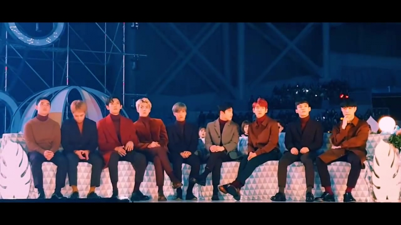 [HD FANCAM] 161119 EXO full reaction to BLACK PINK performance @ MMA 2016