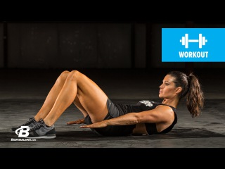 At Home Cardio and Core Workout: Day 16 | Clutch Life: Ashley Conrad's 24/7 Fitness Trainer