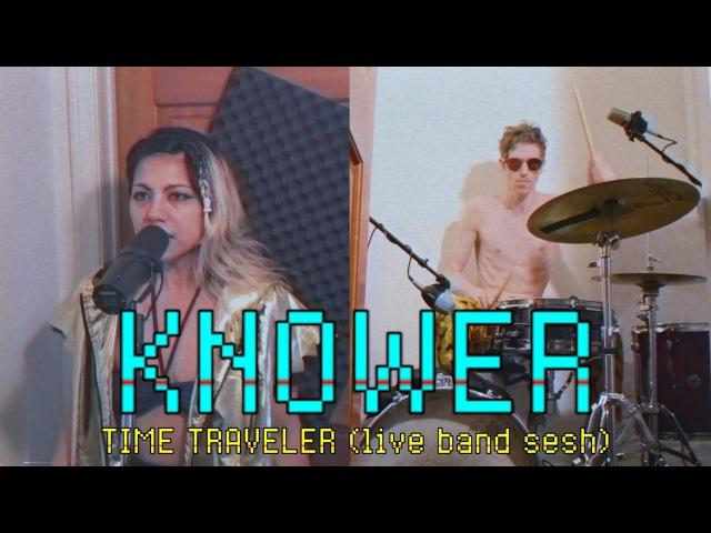 Time Traveler Live Band sesh KNOWER