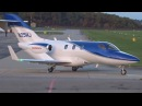 [FullHD] Private Honda HA-420 HondaJet takeoff at Geneva GVA LSGG