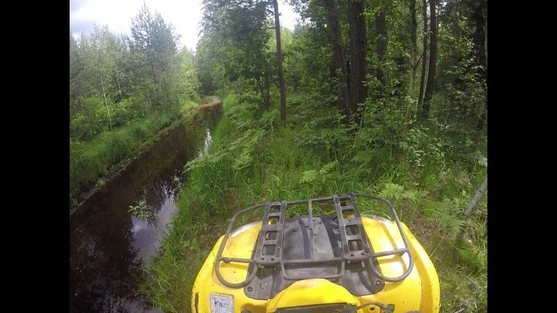 Путь к таинственному озеру едем наугад