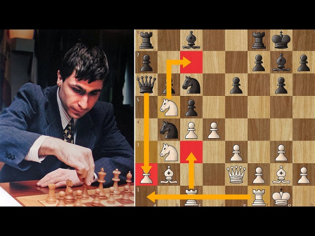 Ivanchuk Forces Gelfand to Resign in 18 Moves - Linares (1991)