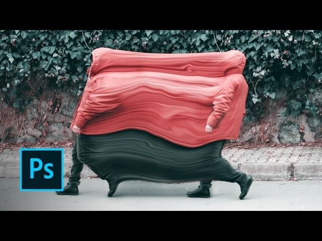 Art Makers Sakir Yildirim Creates Liquified Movement in Photoshop Adobe Creative Cloud