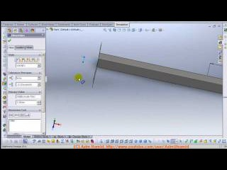 Solidworks 2011 - Tutorial - Design optimization