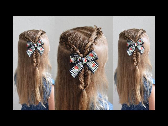 Triple Braid Pull Through Braid Dutch Braid Fishtail Braid Q's Hairdos