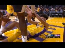 Lonzo Ball Goes Coast to Coast Nuggets vs Lakers October 2 2017 2017 NBA Preseason
