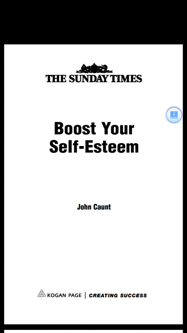 Boost Your Self-Esteem (''Sunday Times)