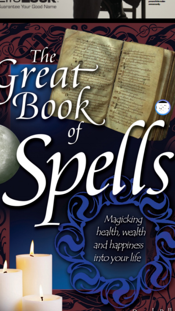 The Great Book of Spells Magicking Health