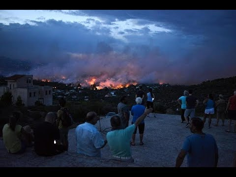 *Devastating Fires In Greece*Dam Collapse In Laos*Record Heatwave Multiple Continents*