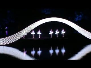 Шоу на озере Сиху в г. Ханчжоу