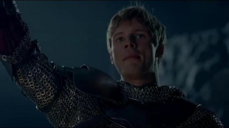 Воззвание Короля Артура перед полуфиналом Англия Хорватия