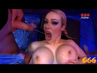 Ggg 666 chessie kay scene [ pissing, gangbang, deep throat, piss in mouth, hardcore, rough sex, big tits, pornstar ]