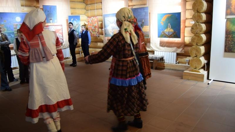 Открытие выставки Архаика и этнофутуризм