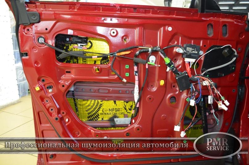 Комплексная шумоизоляция Lexus RX, изображение №14