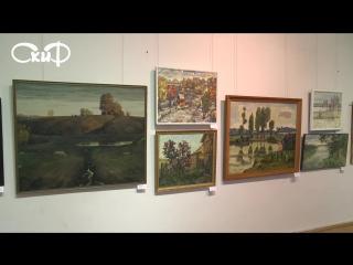 В Витебском художественном музее прошла выставка, посвященная 80-летию образования региона.