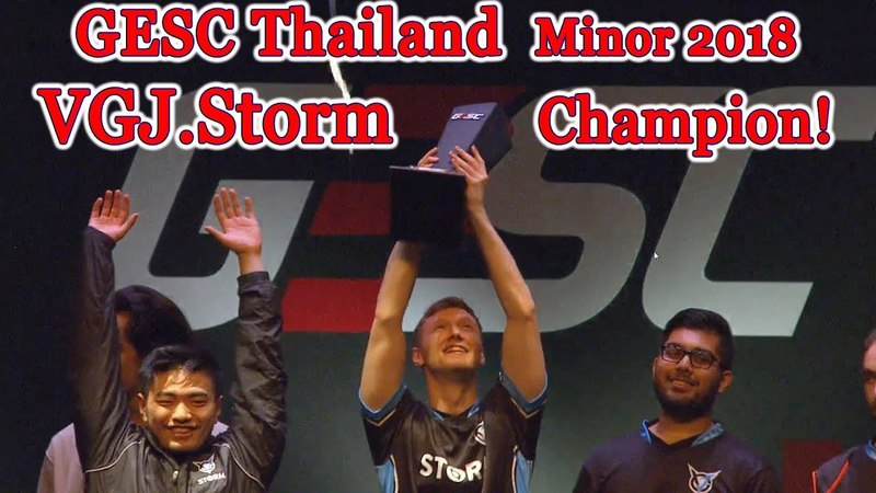 Champion 🏆 GESC Thailand champions Grand Final vs Keen Gaming Winning moment CyberWins