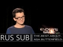 Asa Butterfield interview for Enders Game