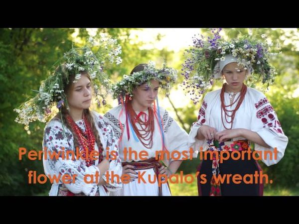 Ivana Kupalo is celebrated at the summer solstice
