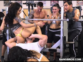 [FuckTeamFive] Rose Monroe, Holly Hendrix, Mia Martinez - A Workout for Your Cock!  rq