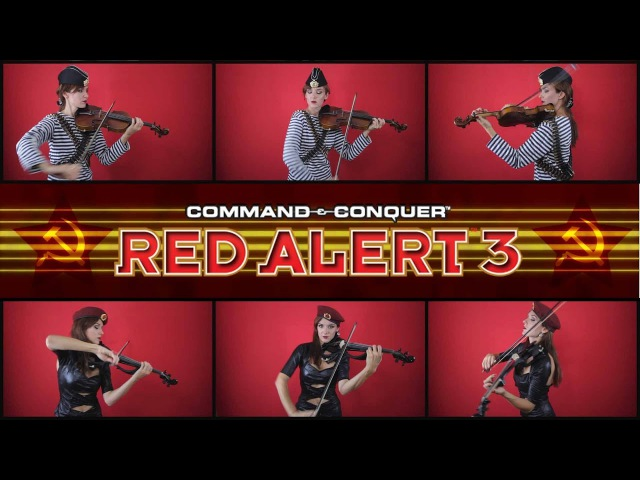 CC Red Alert 3 Theme - Soviet March (Anastasia Soina violin)
