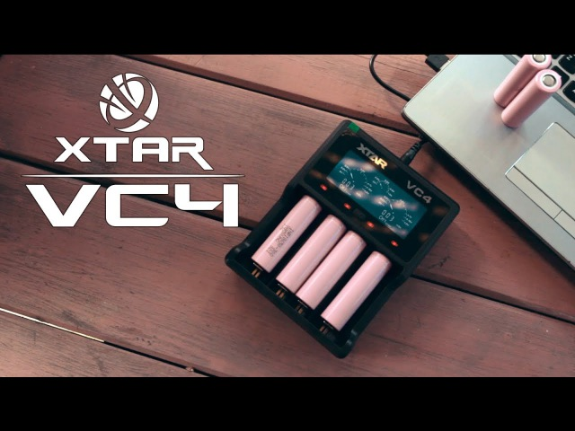 БЫСТРЫЙ ОБЗОР FAST REVIEW Зарядное устройство XTAR VC4