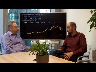 Перспективы роста акций AMD и NVIDIA. Дмитрий Александров и Олег Бочагов.