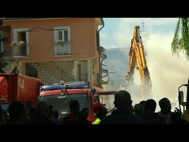 Землетрясение в Аматриче вспоминают выжившие