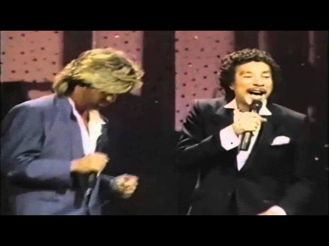George Michael Smokey Robinson Careless Whisper LIVE HD