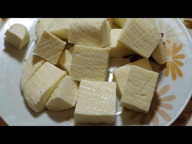 Домашний сыр за 10 минут Homemade cheese in 10 minutes
