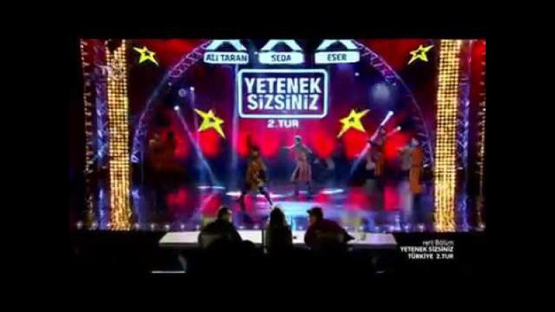 Balaca Reqqas Orxan Ezizov Ve Dikiy Kavkaz Yetenek Sizsiniz Turkiye 2 tur 2016