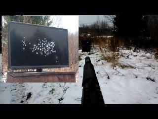 Мр-661к (дрозд) Расстрел ЖК телевизора или звёздное небо за 30 секунд
