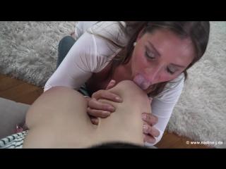 Hitomi Tanaka Nadine Jansen  Boob Sucking BIG TITS LEsbian ASian Nude HD
